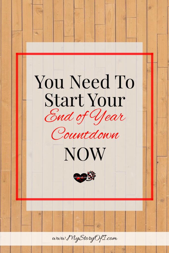 why you need to start your end of year countdown now