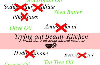 Trying Out Beauty Kitchen