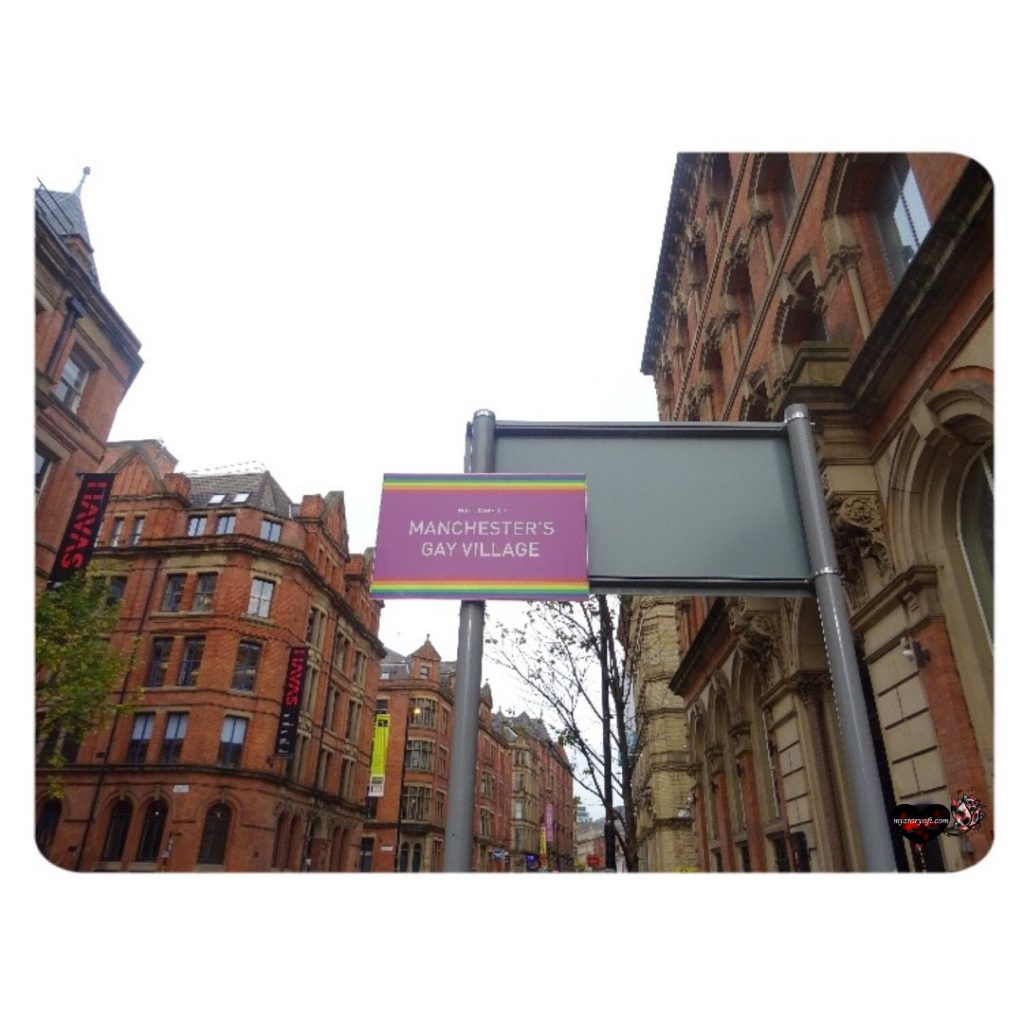 District In Manchester Gay Village