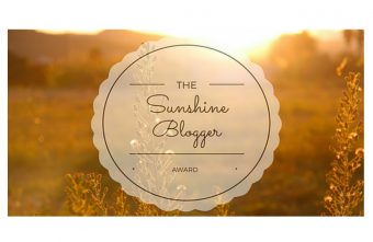 My Story Of I Sunshine Blogger Award