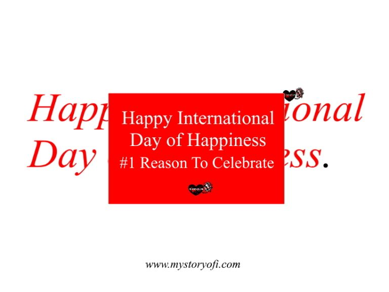 Happy International Day Of Happiness