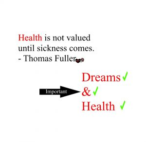 Be a healthy you!