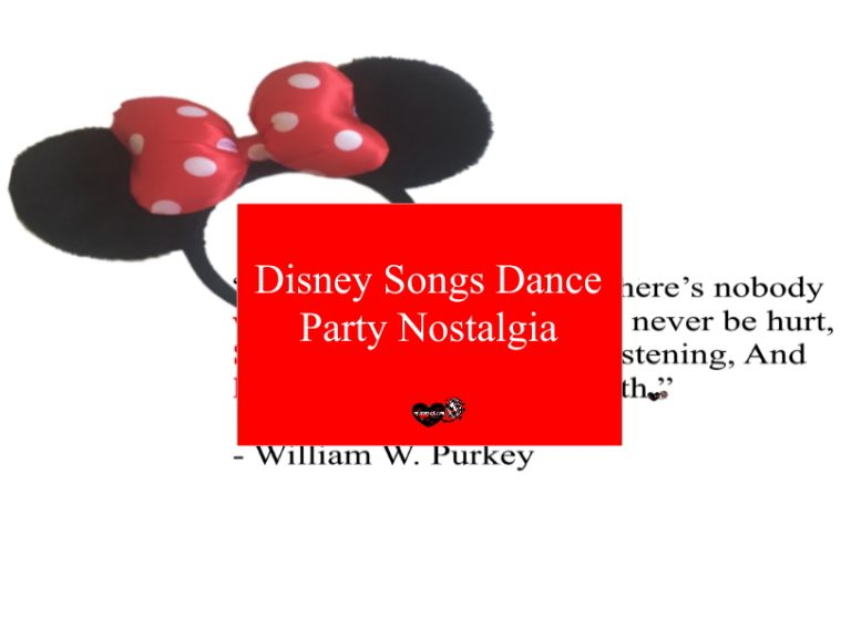 Treat Yourself To A Disney Songs Dance Party