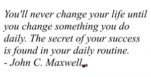 A quote about differences from John C Maxwell.