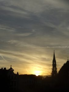 Mont Des Arts Sunset