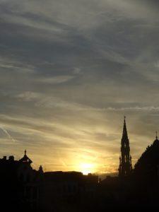 Mont Des Arts Sunset