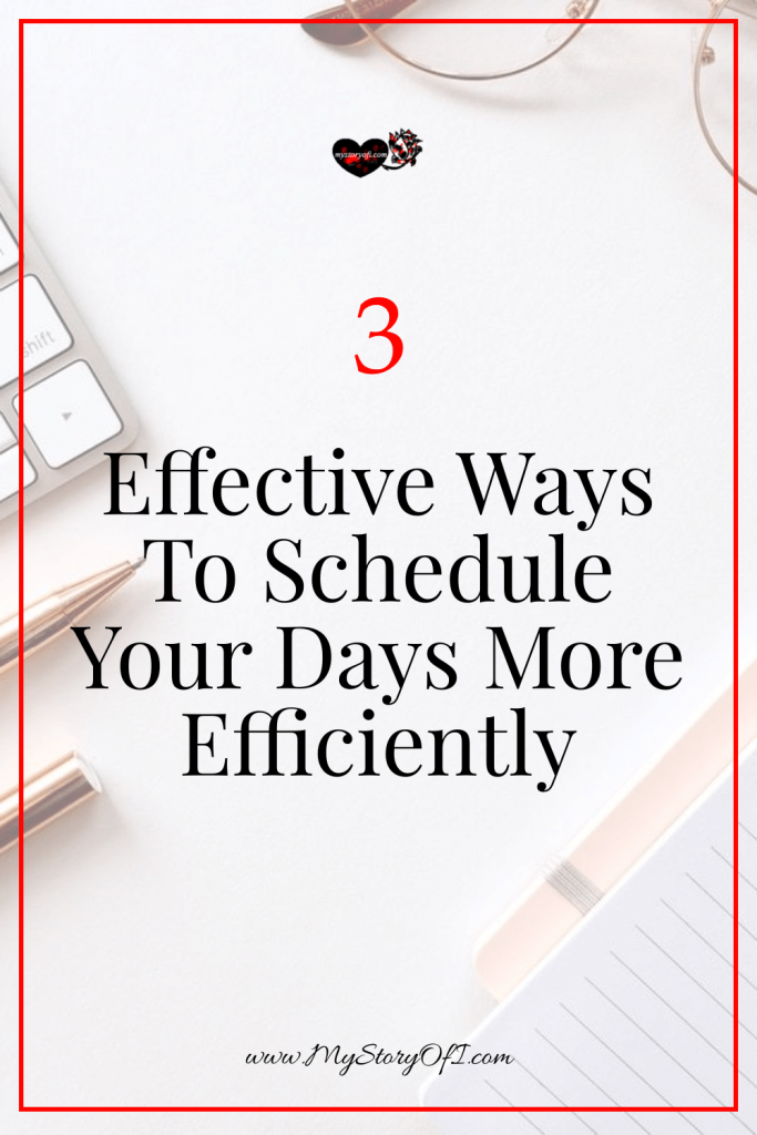 effective ways to plan your days more efficiently