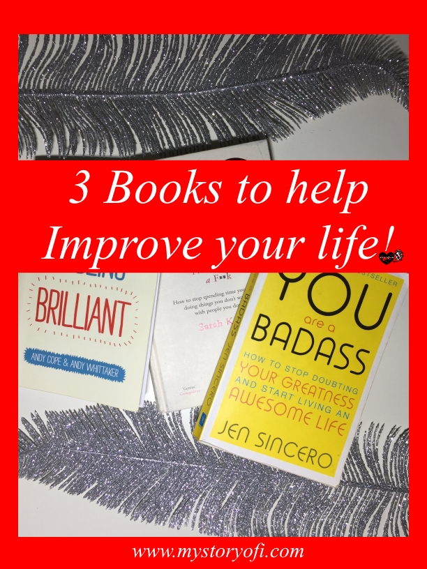 3 books to help improve your life so you too can be living your best life.