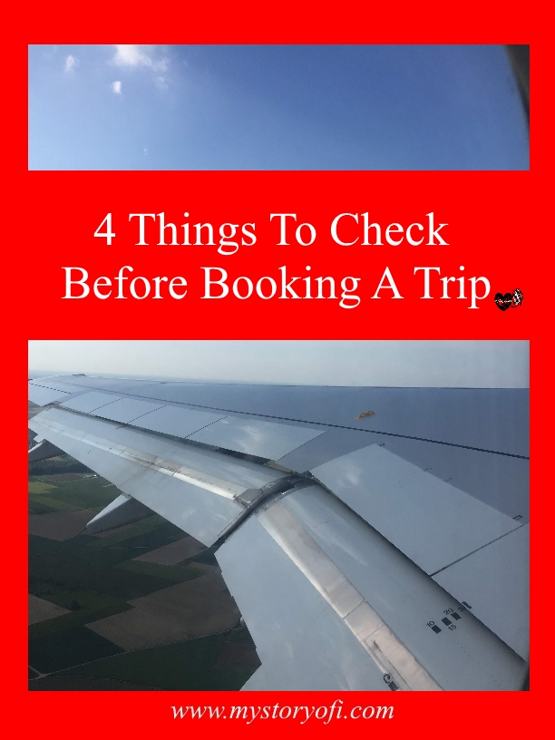 4 things to check Before Booking A trip