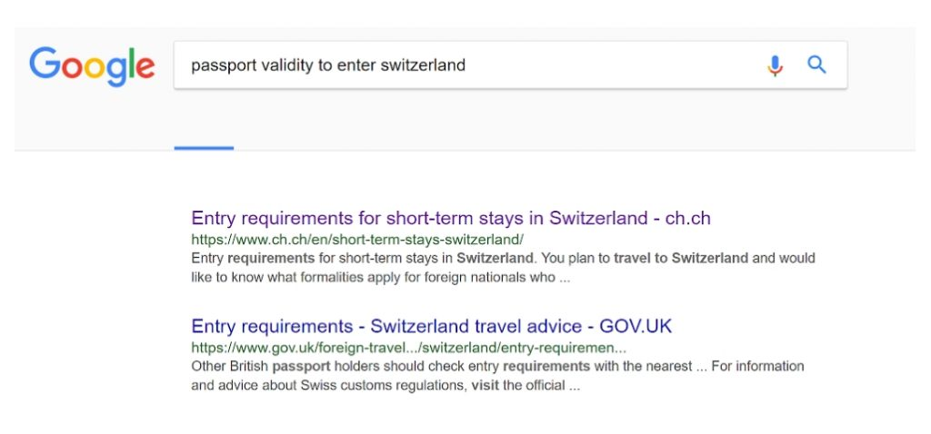 Passport Validity Check Before booking a trip