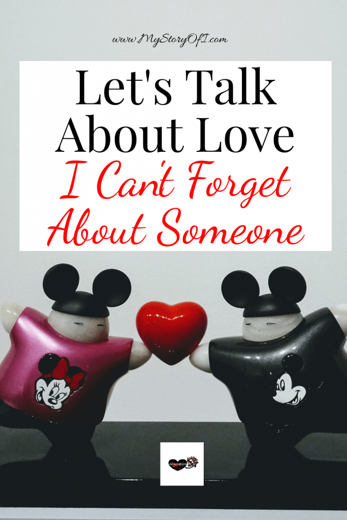 let's talk about love I can't forget about someone with mickey and minnie
