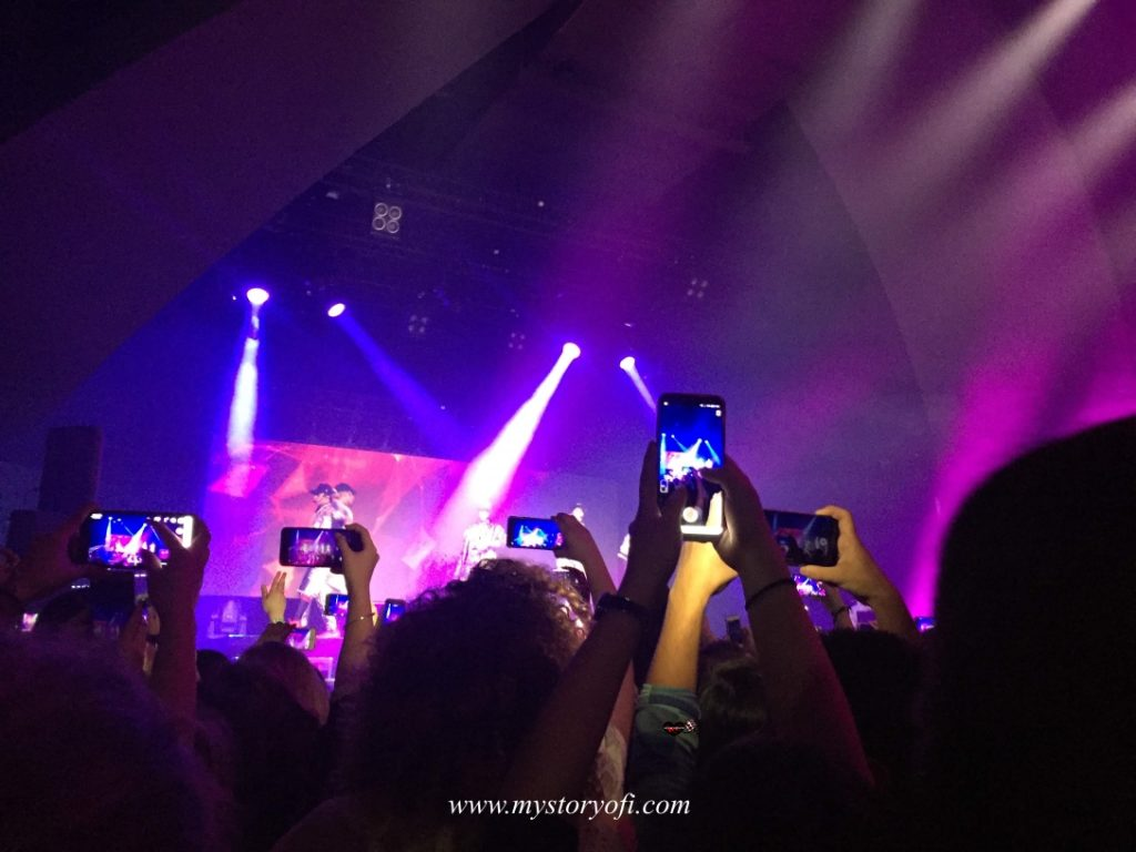 Phone addiction first concert cnco