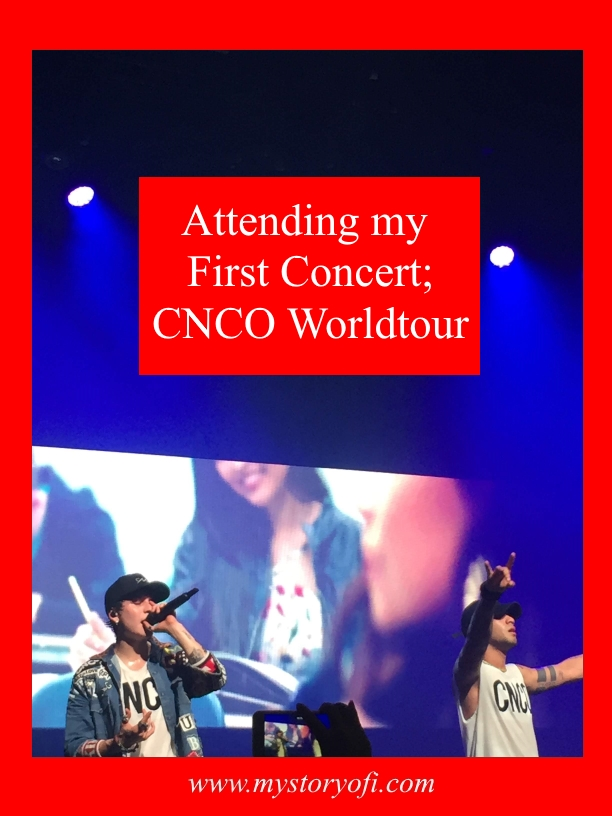 Attending my first concert cnco worldtour
