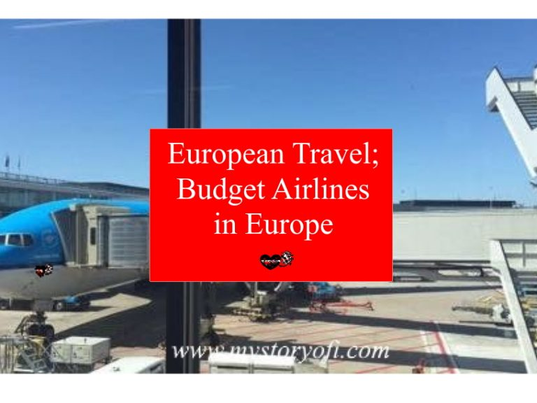 European travel with the best budget airlines in Europe