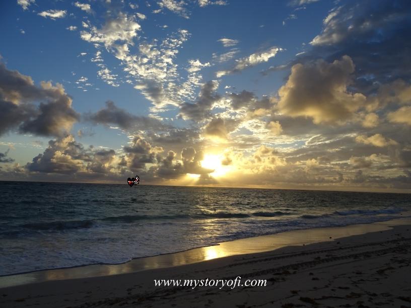 Morning Motivation sunrise in Punta Cana