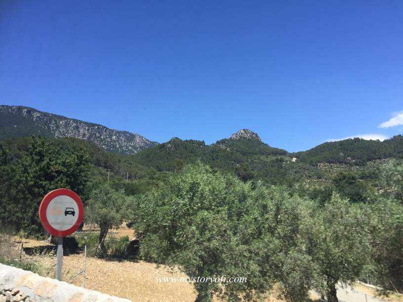 Mallorca Mountain hills cause it is a relaxing picture just as getting a facial steam