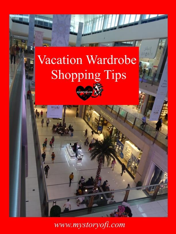 Vacation Wardrobe Shopping Tips