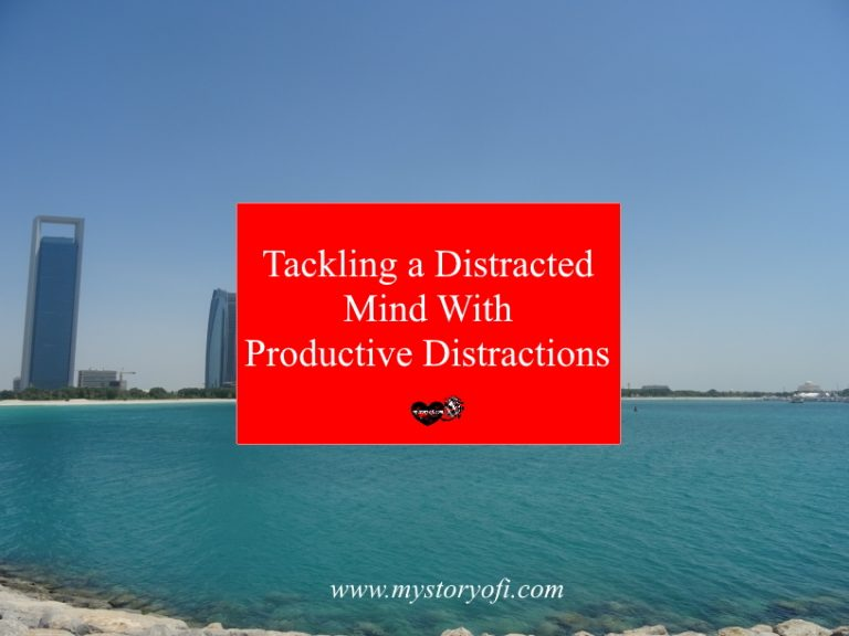 help a distracted mind with productive distractions