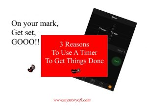 reasons to use a timer to get things done