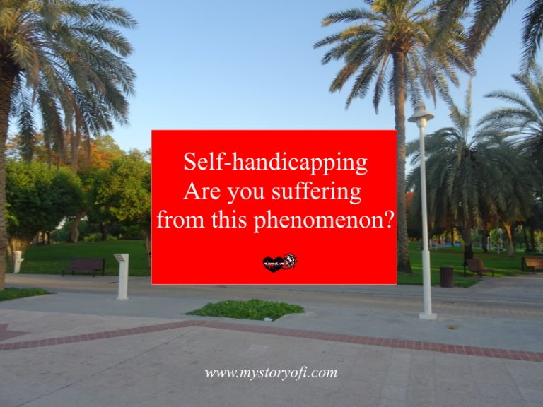 Self-handicapping are you suffering from the phenomenon