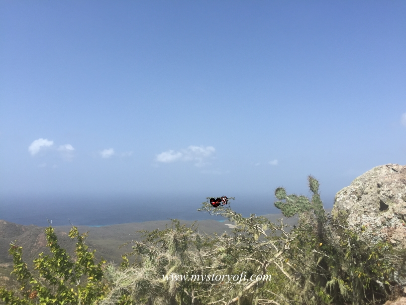 view-top-of-christoffelberg-in-curacao