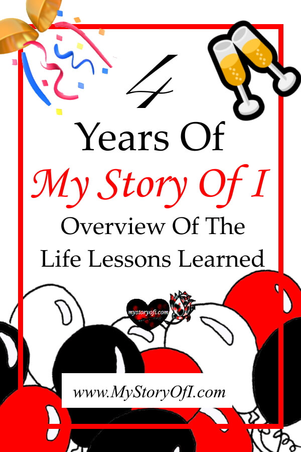 celebrating four years of My Story Of I.