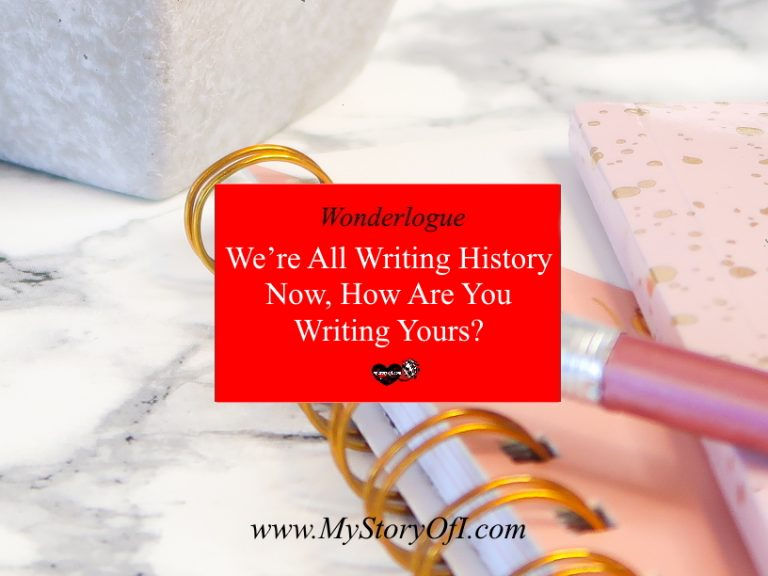 writing history how are you writing yours?