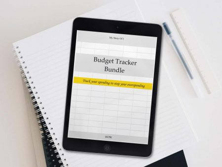 budget tracker bundle to stop overspending