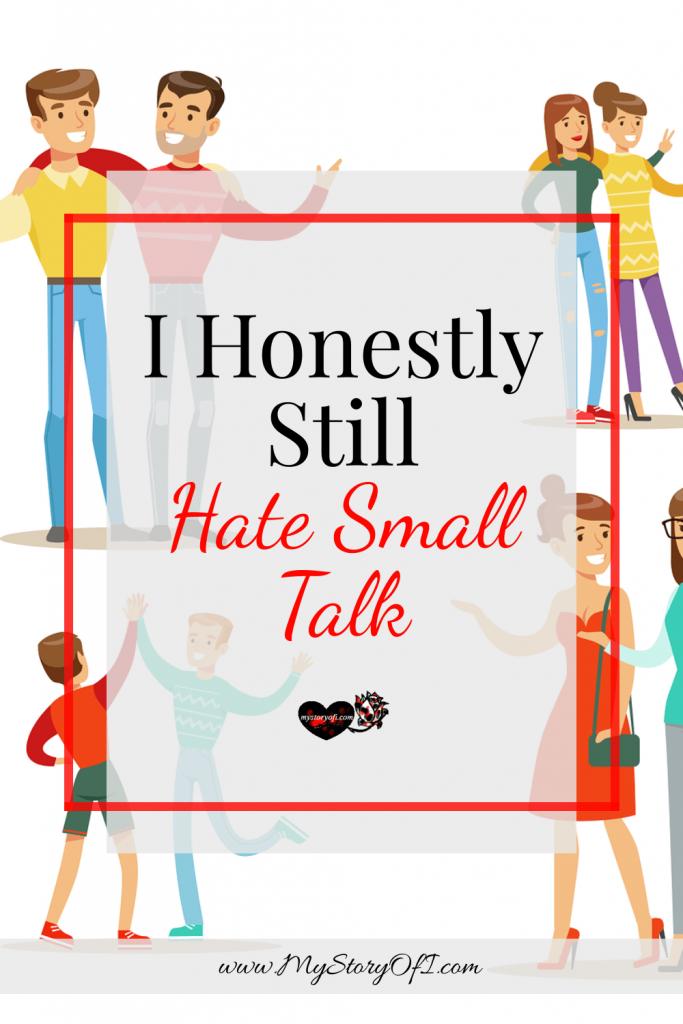 people having small talk