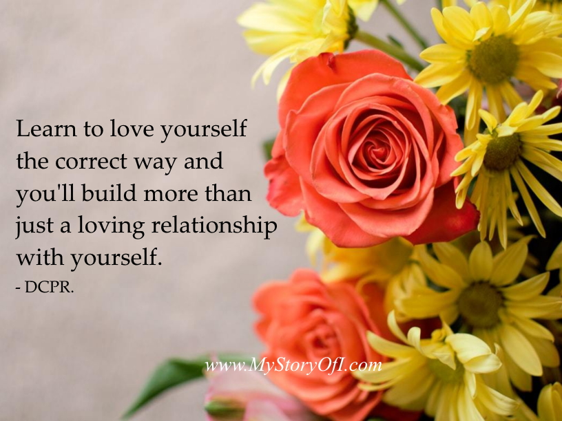 learn to love yourself quote for toxic self-love practices