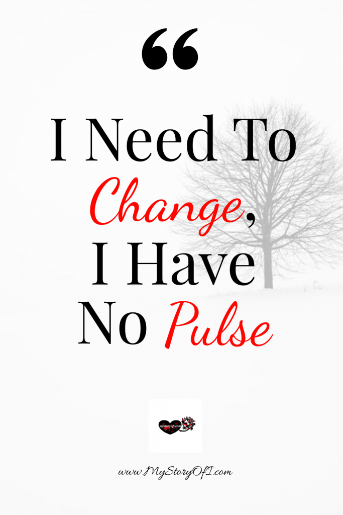need to change have no pulse with a sole tree in the background