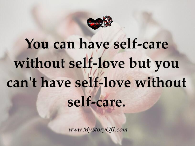 self-care vs self-love definition quote