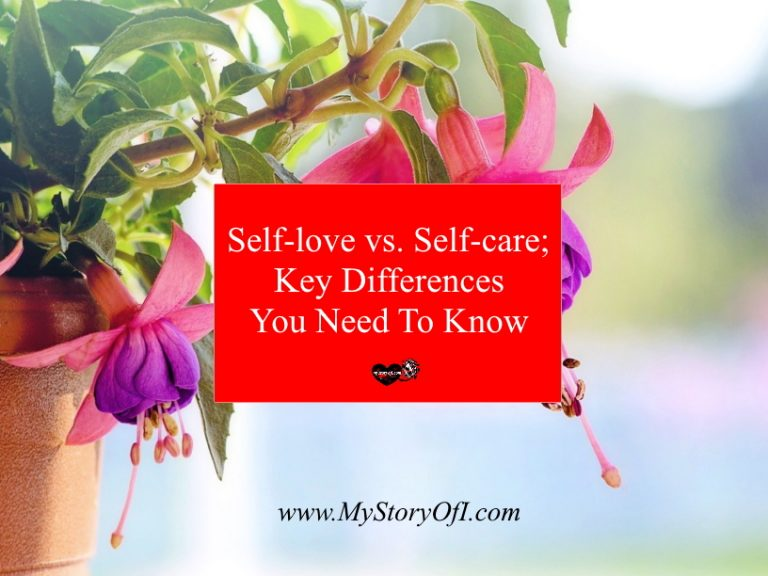Key differences between self-love and self-care