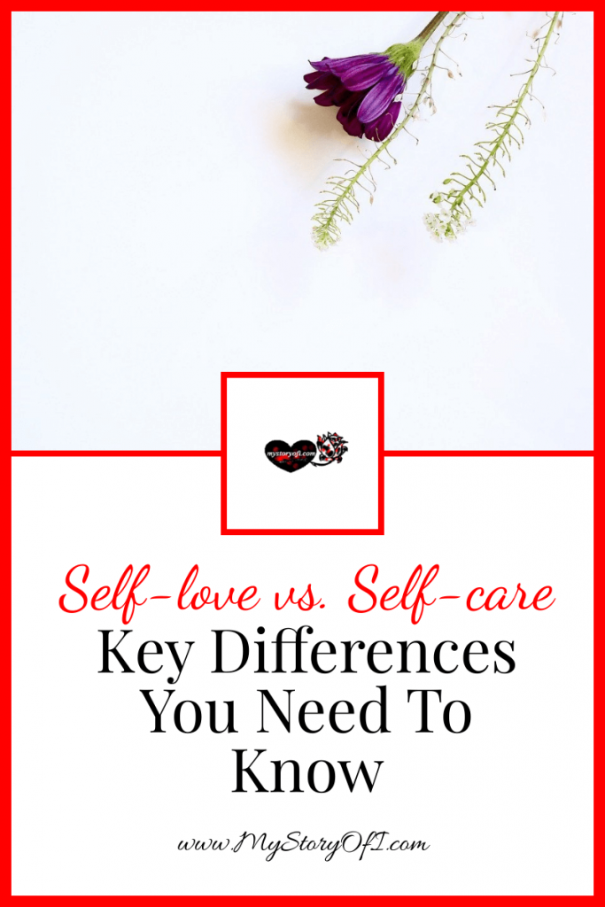 key differences to know about self-love vs. self-care