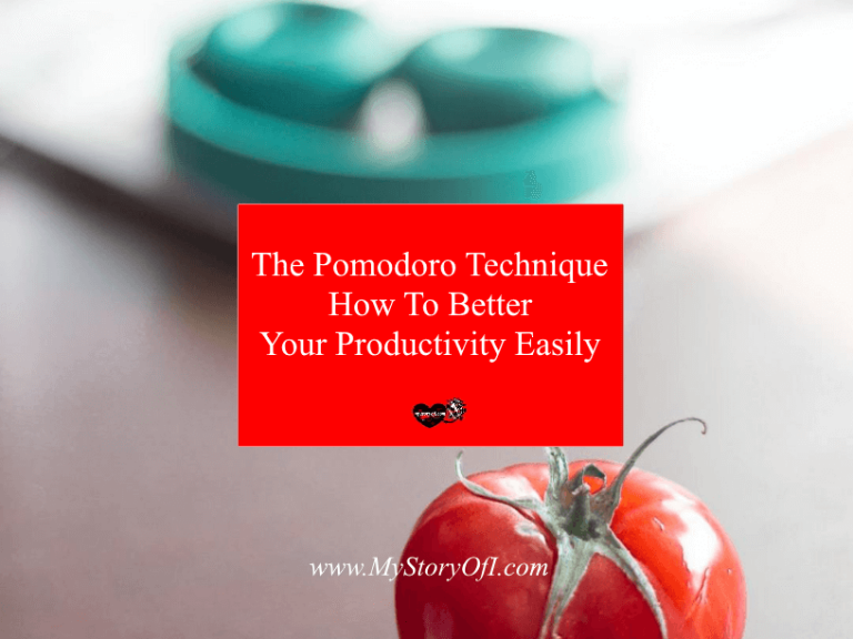 The Pomodoro Technique How To Better Your Productivity Easily